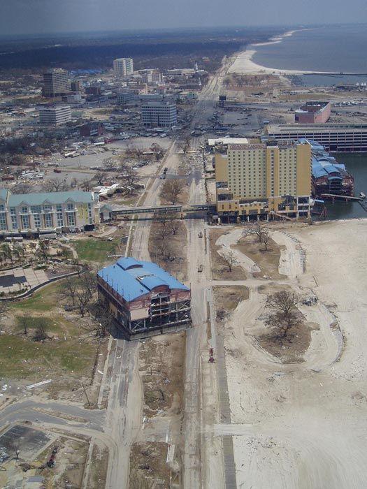 2005 – 2008 Rebuilding after Hurricane Katrina, Mississippi Gulf Coast